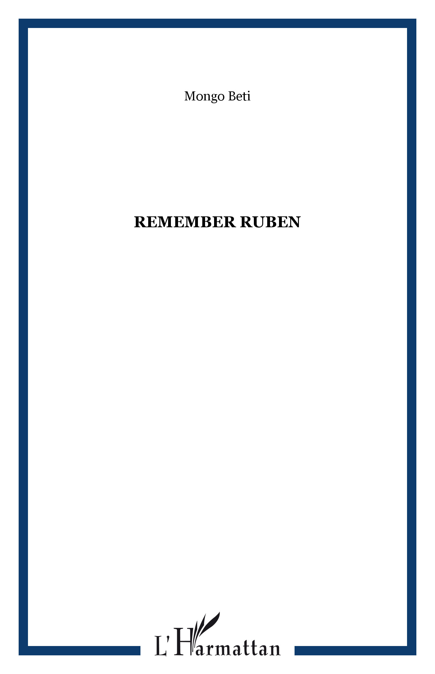 Remember Ruben, 1974
